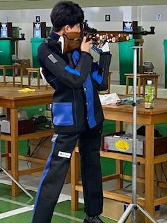 2年の戸田陽翔君は初めての全国大会で自己新記録。予選を3位で通過!